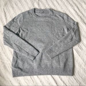 COS Gray Wool Crew Neck Sweater Size M